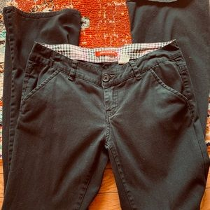 🍀UnionBay girls black pants
